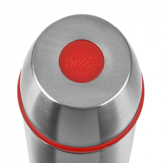 EMSA CAPTAIN 0.35L Stainless Steel/Red