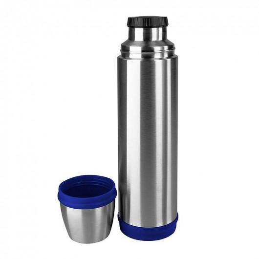 EMSA CAPTAIN 0.7L Stainless Steel/Blue