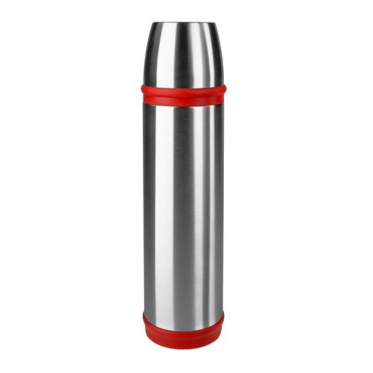 EMSA CAPTAIN 0.7L Stainless Steel/Red