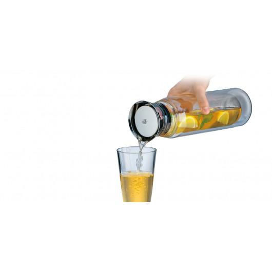 ALFI FLOWMOTION 0.75L Transparent/Stainless Steel/Black