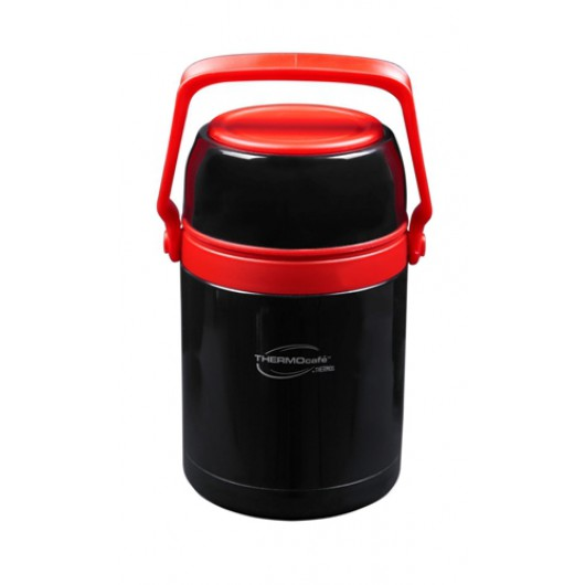 THERMOcafe by Thermos 1L Black/Red